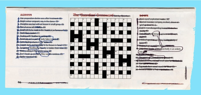 "Stuart Horodner ""Crossword"""
