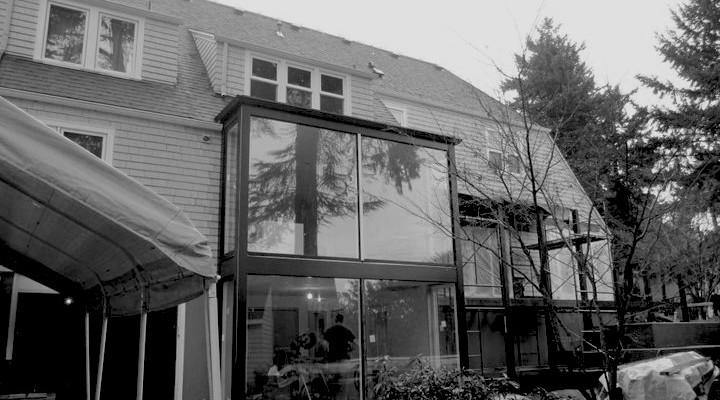 exterior duringB+W